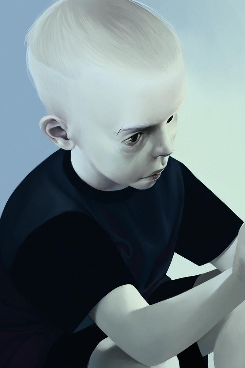 Blue II by duxia