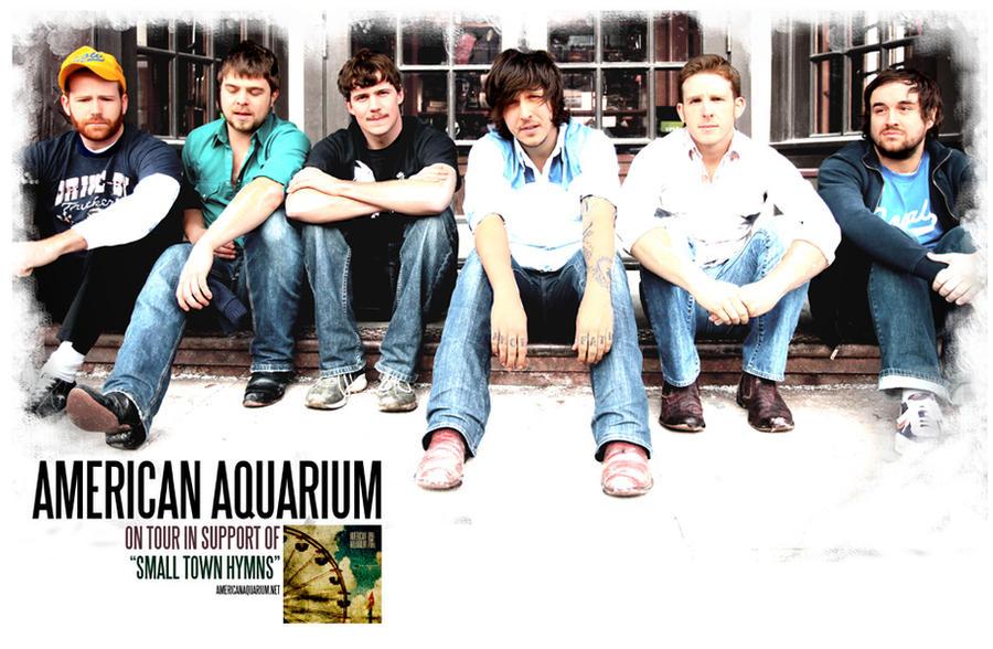 American Aquarium 2010 Tour Poster By Thedigitalgeorge On Deviantart