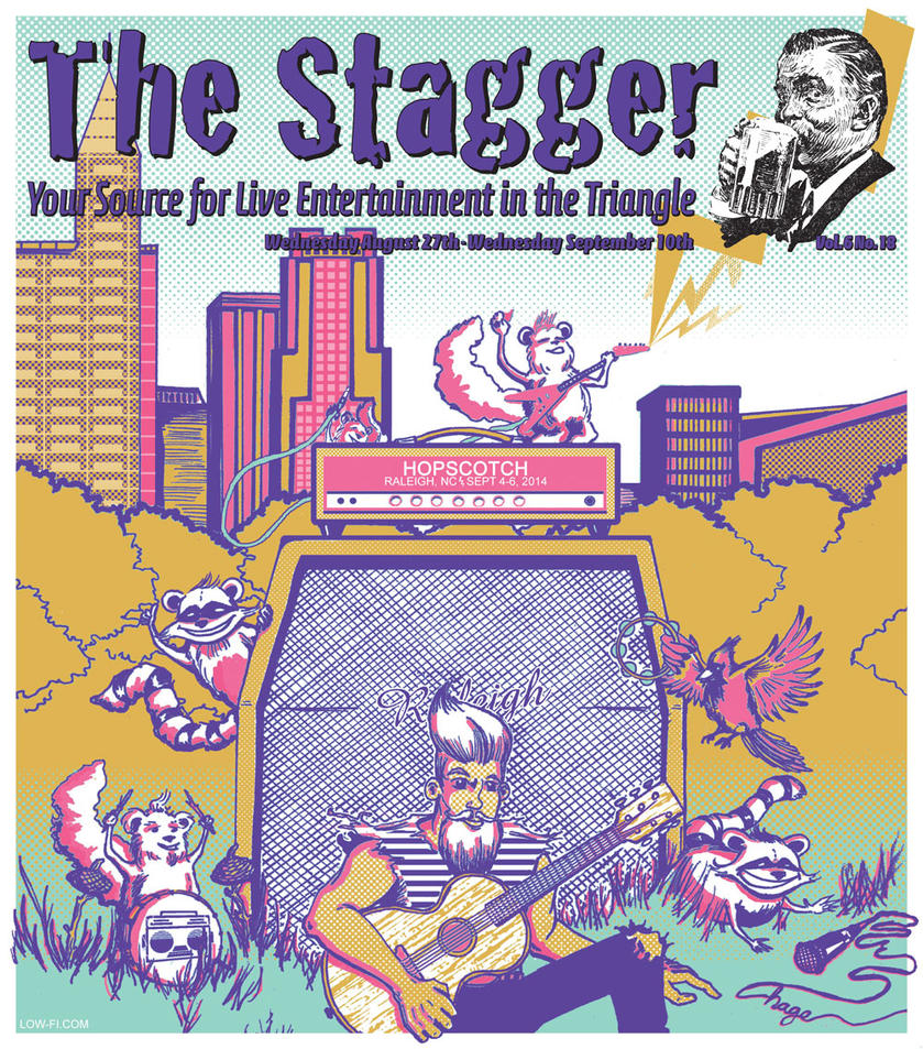 The Stagger 'Hopscotch Music Festival' Cover by thedigitalgeorge