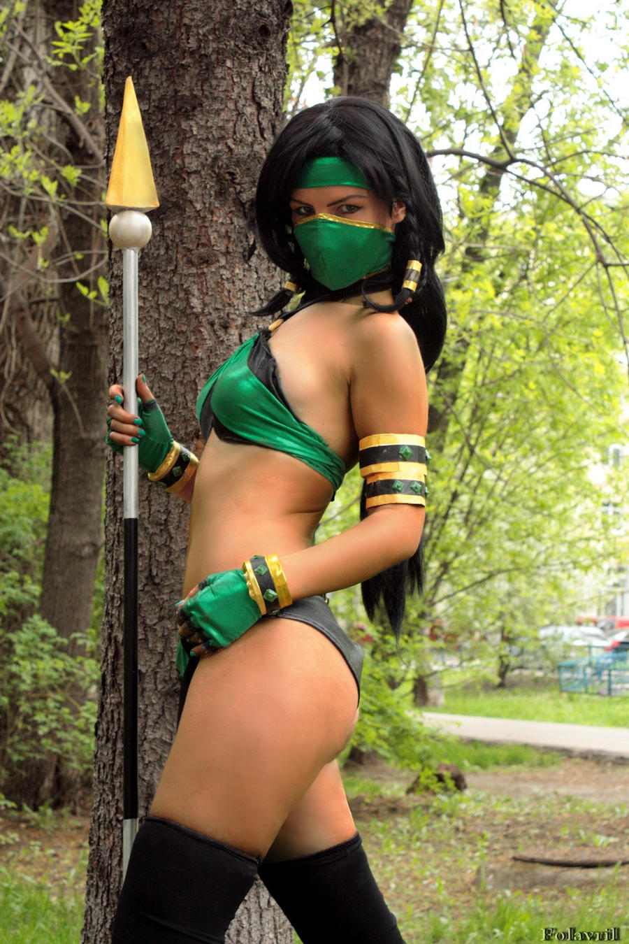 Jade Mortal Kombat by Nemu013