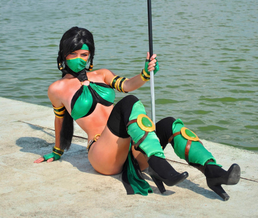 Jade Mortal Kombat by Nemu013