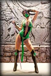 Jade Mortal Kombat cosplay