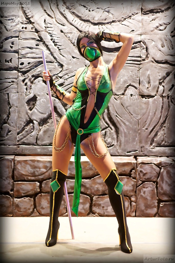 Can Mortal kombat jade follando phrase