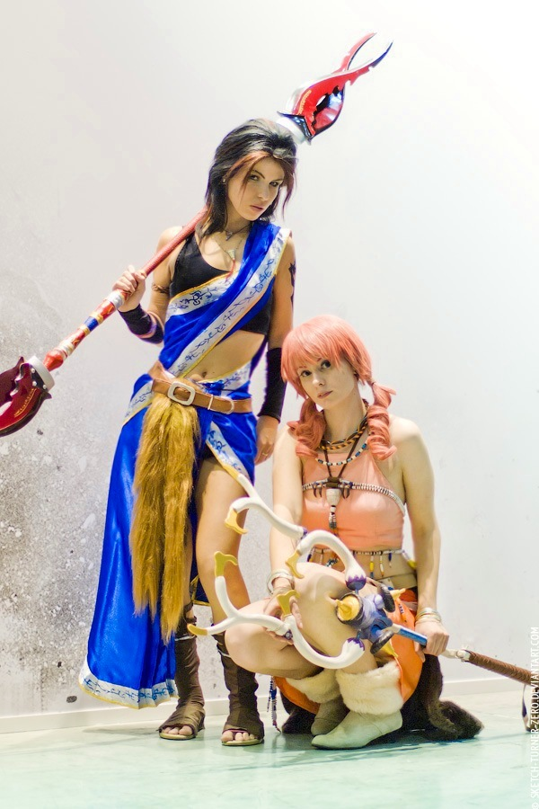 Oerba Yun Fang and Oerba Dia Vanille by Nemu013