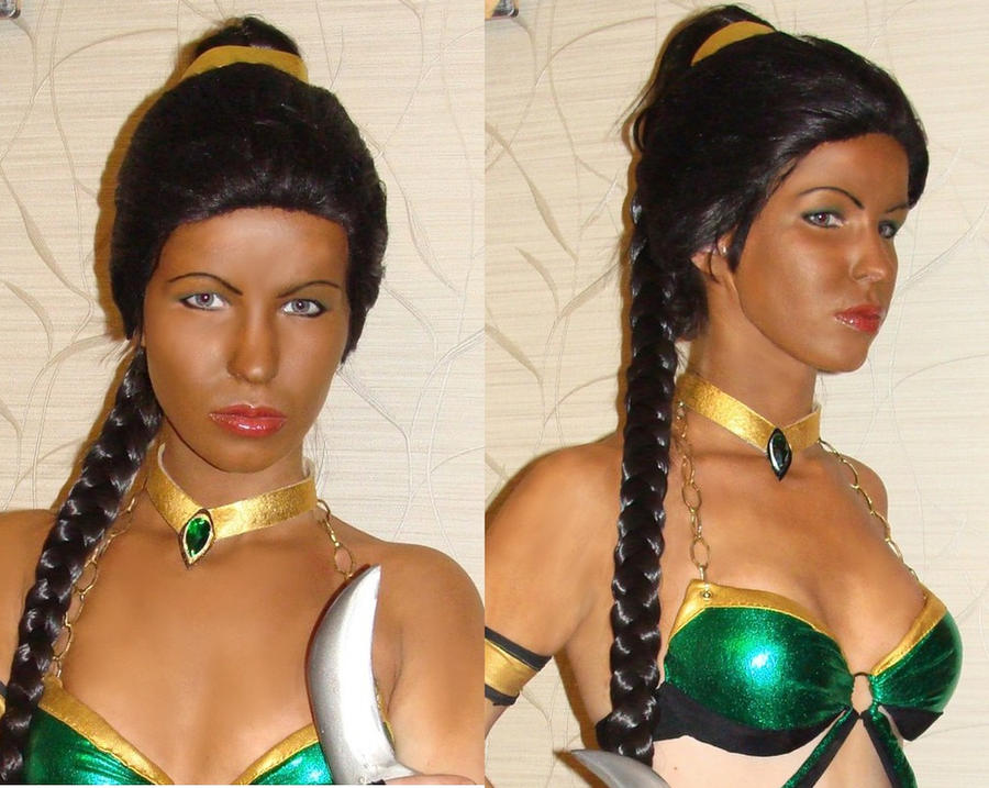 Jade alternate cosplay Mortal Kombat by Nemu013