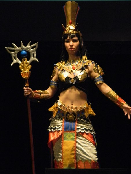 Anck Su Namun cosplay by Nemu013