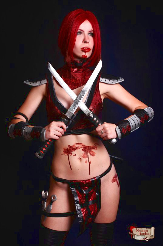 Skarlet cosplay  Mortal Kombat by Nemu013