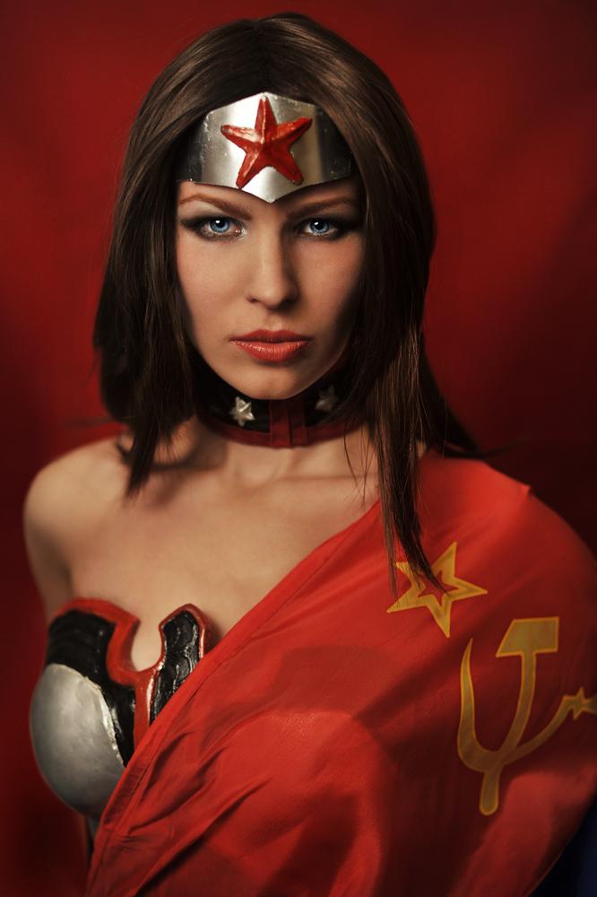 Injustice :Gods Among Us WW in Soviet Union by Nemu013