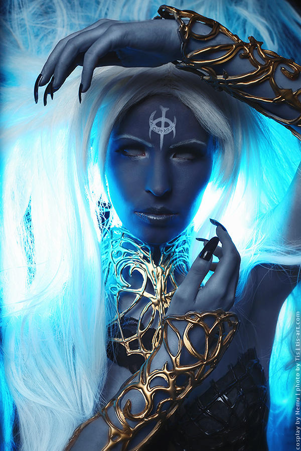 Lineage II Goddess of destruction. Shilen. cosplay