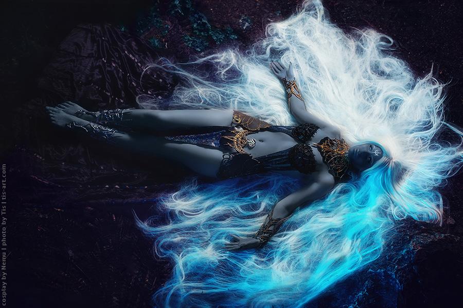 Lineage II Goddess of destruction. Shilen. cosplay by Nemu013