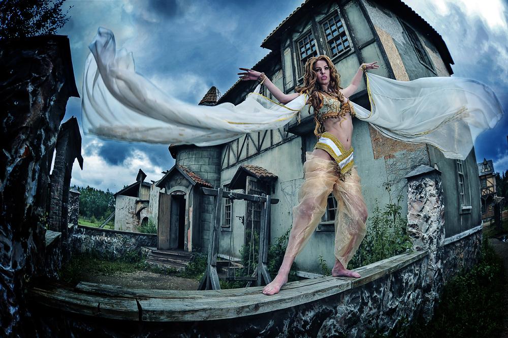 Marishka cosplay from Van Helsing by Nemu013