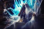 Lineage II Goddess of destruction. Shilen. cosplay