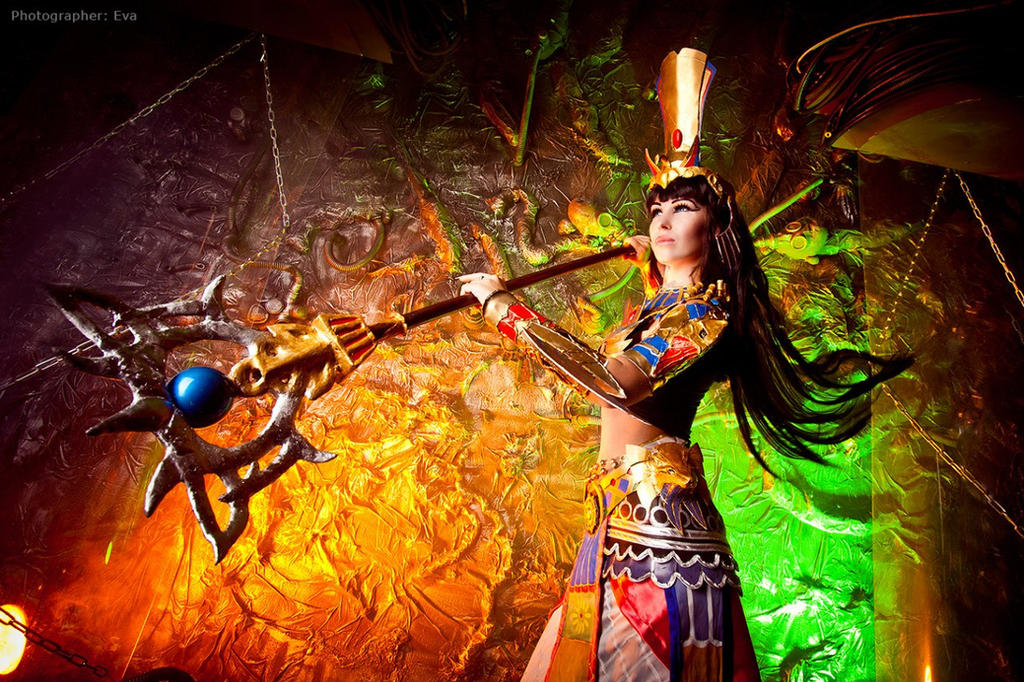 Anck Su Namun cosplay from Atlantica online by Nemu013