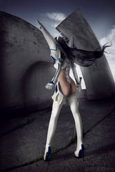 Satsuki Kiryuin cosplay from Kill la Kill