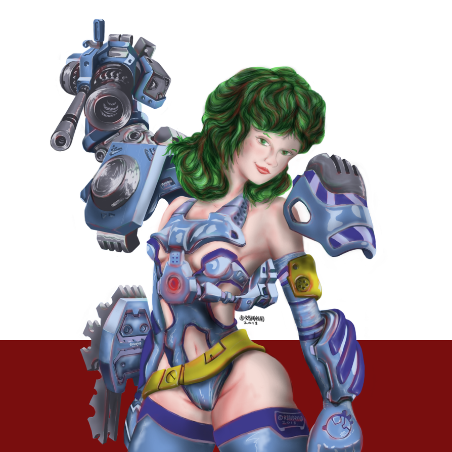 Artillery Girl by roSpectral