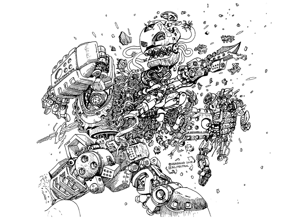 Destroying failed robot by roSpectral