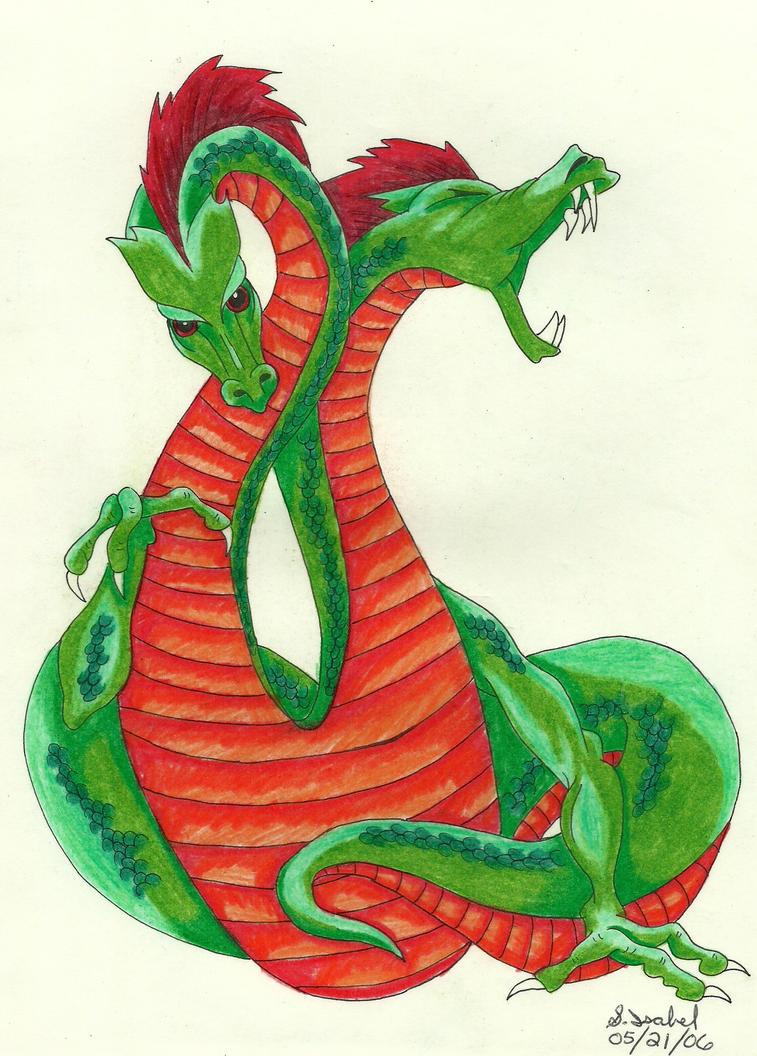 2 headed dragon - 4 5