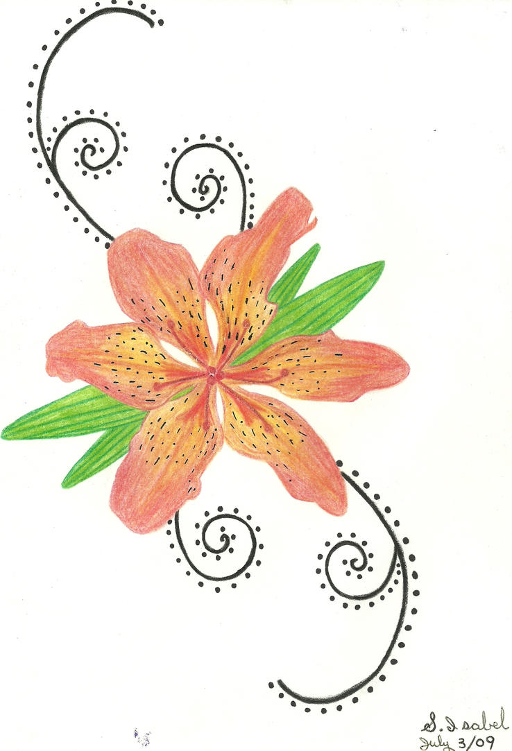 TIGER LILY TATTOO by S-Isabel on DeviantArt