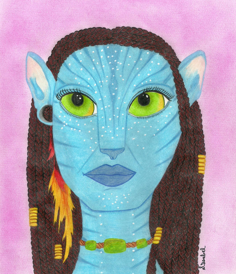 Neytiri in color by S-Isabel