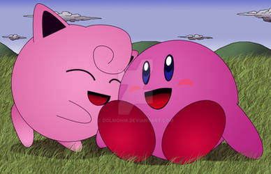 Kirby and Jiggly