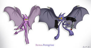 Rema and Peregrine by wolfwoot