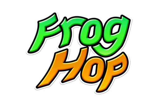 Frog Hop Logo by wolfwoot