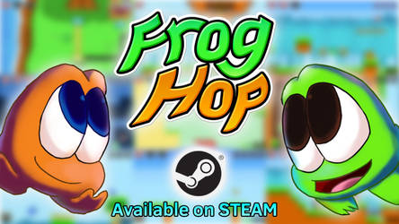 Frog Hop: Released! by wolfwoot
