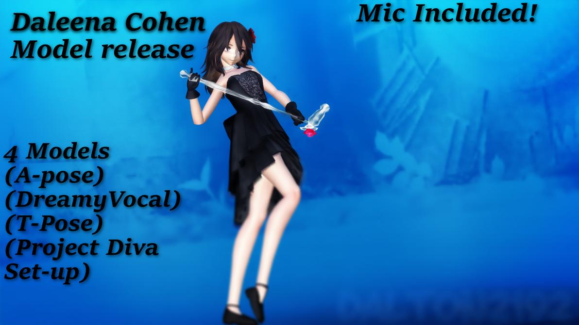 MMD ~ Daleena Cohen ~ Model Release by dalton2192