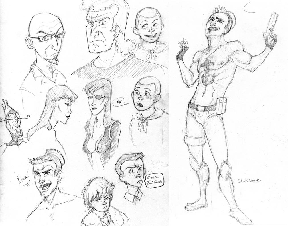 venture brothers coloring pages - photo#5