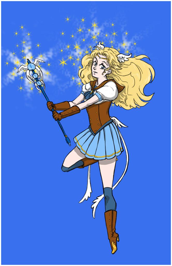 Sailor Rebecca Grey by darkCHICKEN
