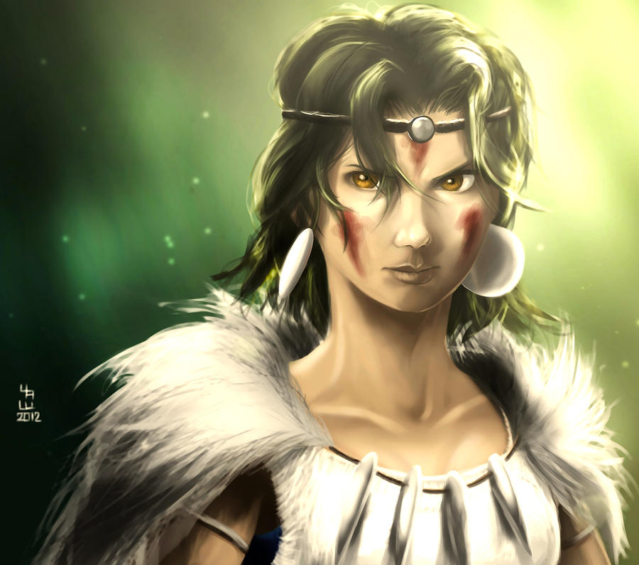 Princess Mononoke by AizakMoon