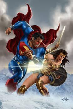 Superman No.211 Recreation Fan Art_After Jim Lee