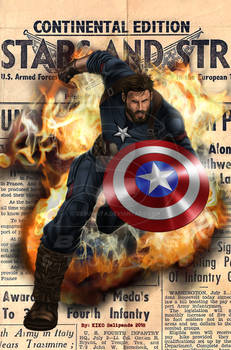 Captain America No109 Cover Recreation