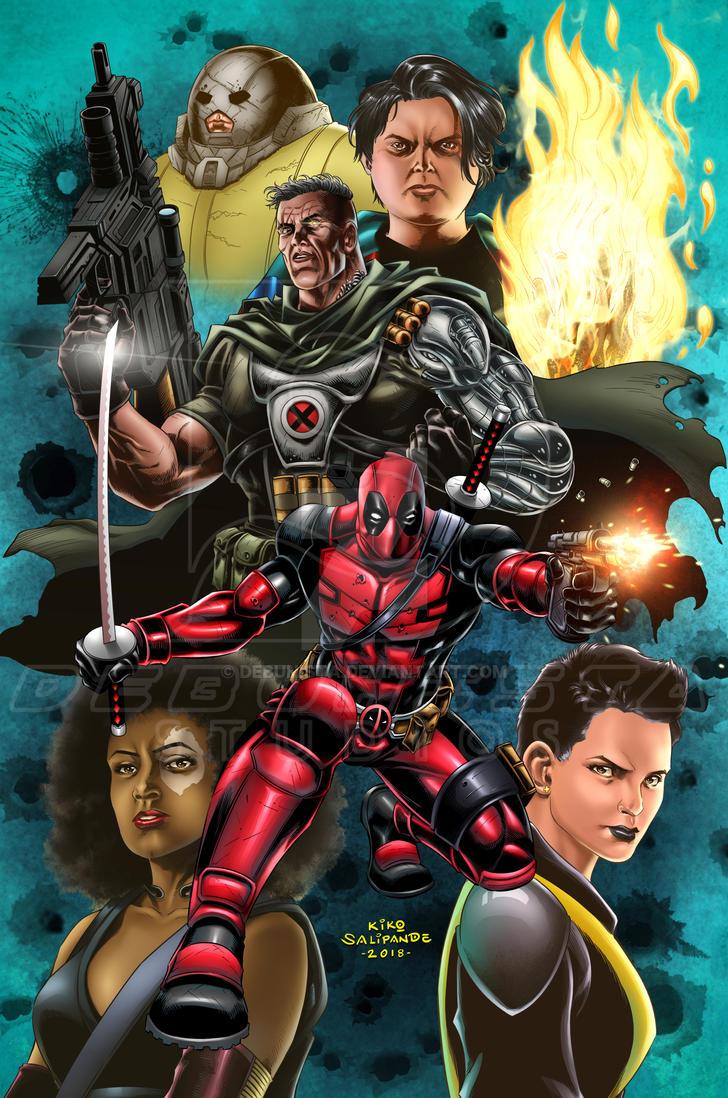 Deadpool 2 Fan Art by debuhista