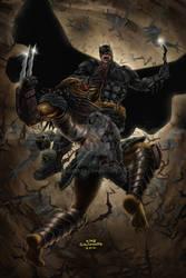 The Batman vs The Predator_2018 by debuhista