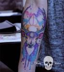 Harry Potter Patronus tattoo