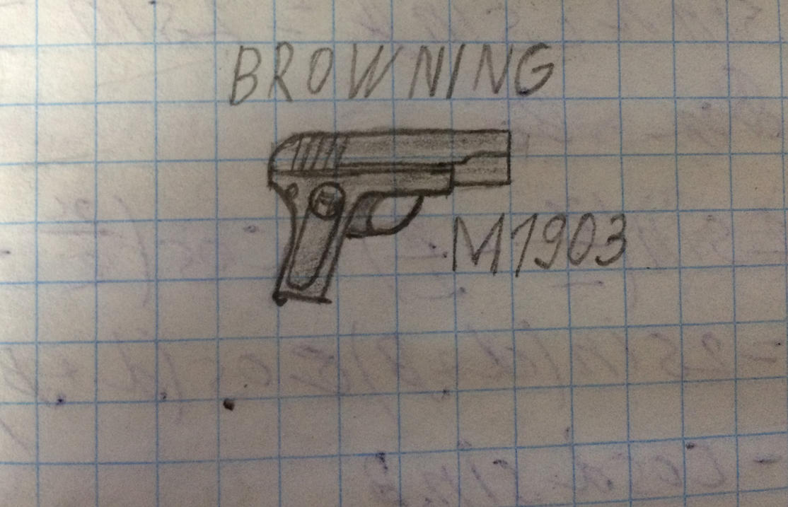 Browning M1903 by kdm9919