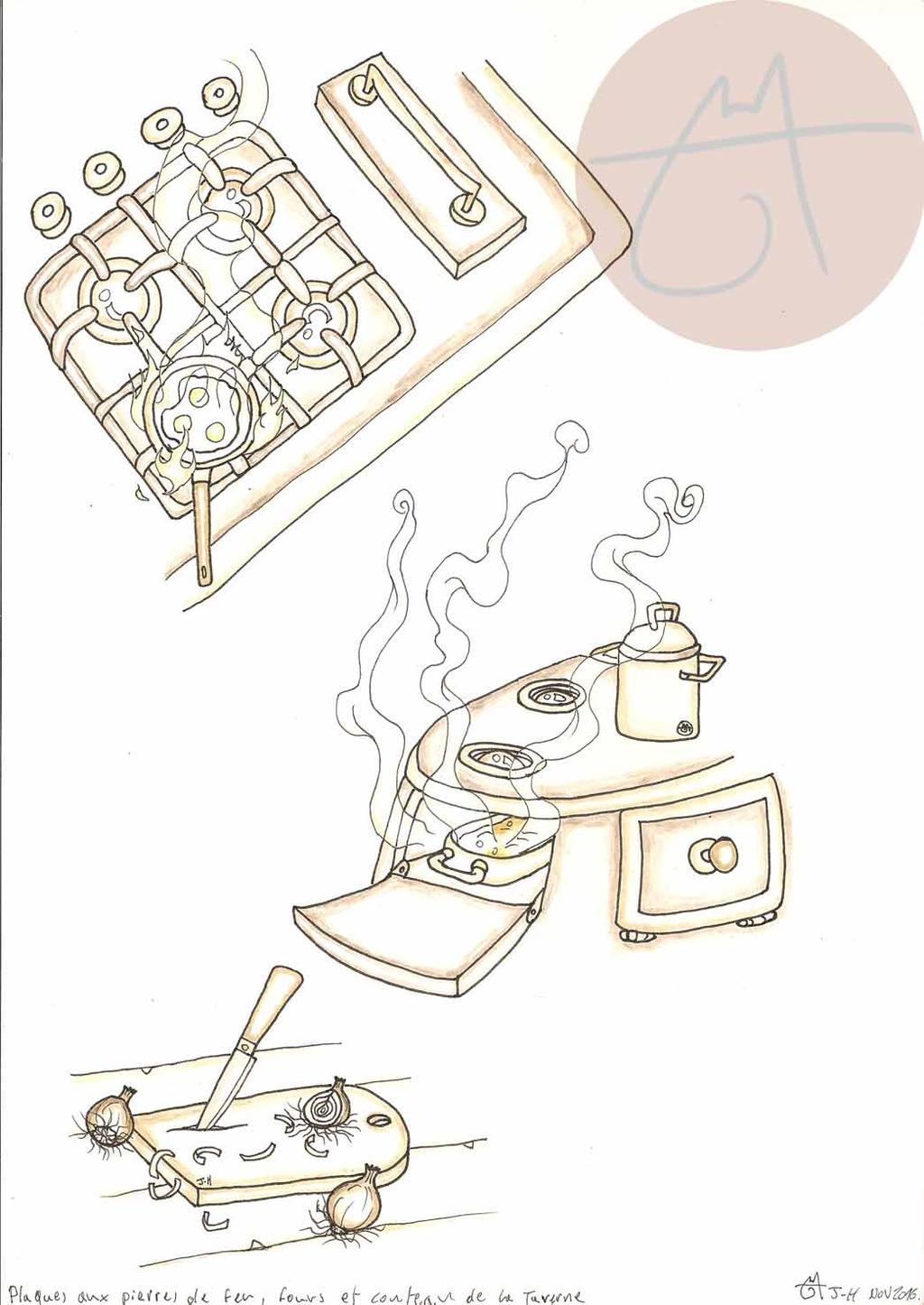 materiels de cuisine et ustensiles de la taverne by raanana on deviantart. Black Bedroom Furniture Sets. Home Design Ideas