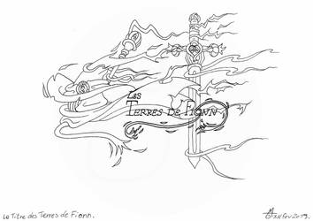 Le titre des Terres de Fionn - in progress by Raanana