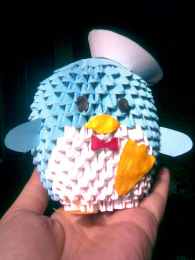 3d Origami Penguin 1 By Shinigamito On Deviantart
