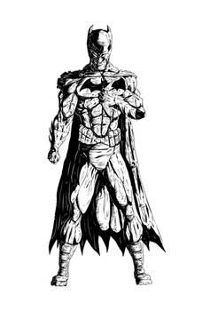 Batman Rendered