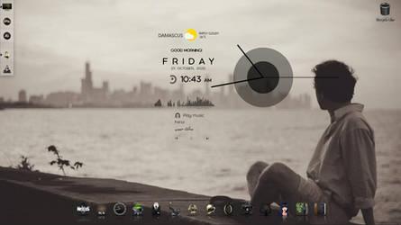 Lonely desktop customization