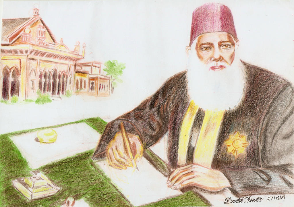 sir syed ahmed khan Sir syed ahmad khan.