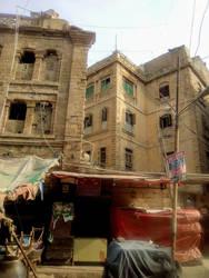 Old Building near Pakistan Chowk