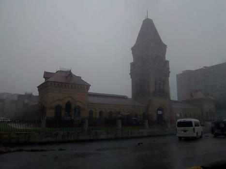 Rainy Day in Karachi