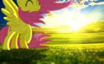 Fluttershy in the Breeze
