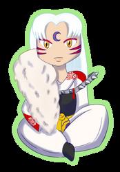 Sesshomaru Chibi (redraw)