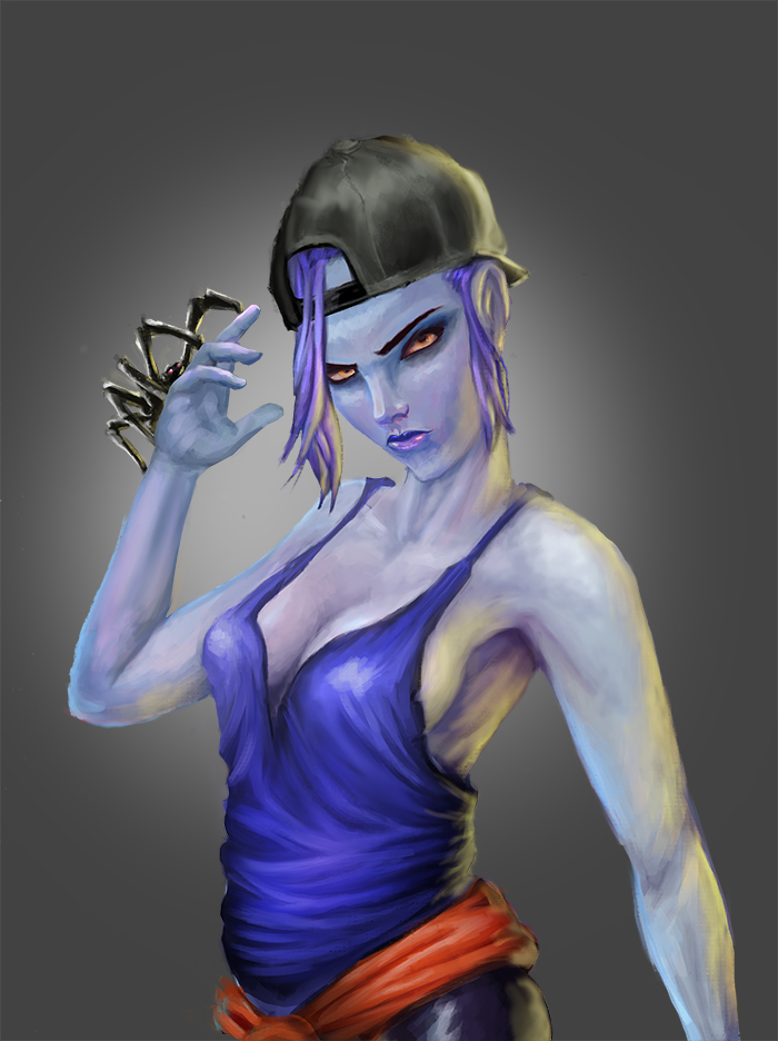 Widowmaker's Day Off by Someone9999