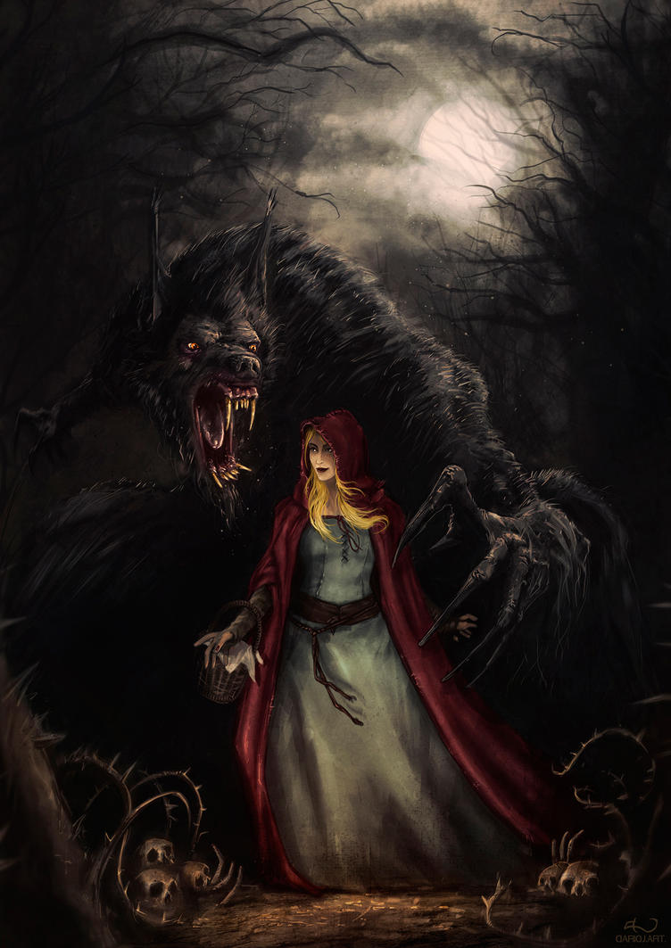 Red Riding Hood by DarioJart