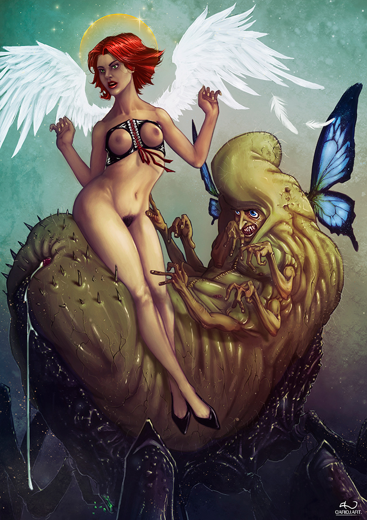 Angels and Insects by DarioJart